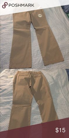 BRAND NEW W/ Tags. Khaki pants Gloria Vanderbilt ultra twill, short cut, flare bottom. Pants Boot Cut & Flare