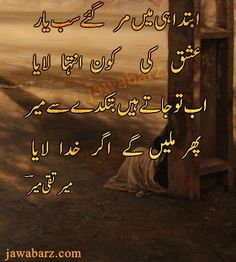 Poetry urdu mir taqi pdf in mir