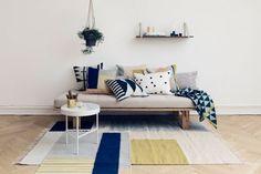 Kelim Rug – Squares Large Mönstrad matta | ferm LIVING | Länna Möbler | Handla online