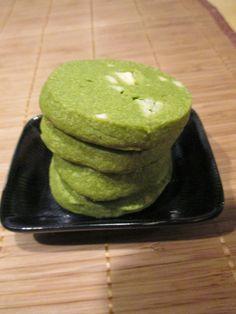 Otaku Family: Green Tea & White Chocolate Cookies