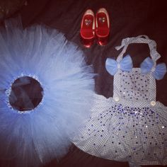 DIY Dorothy Wizard of Oz tutu apron