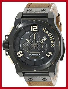 Haurex Italy Men's 6N510UNT Space Chrono Analog Display Quartz Brown Watch - Mens world (*Amazon Partner-Link)