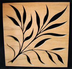 Contemporary Leaf Trivet