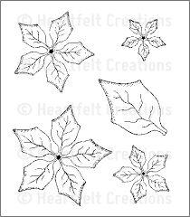 Image result for Poinsettia petals template