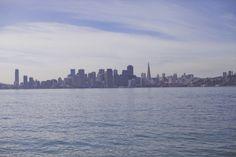 Treasure island vue de SF et Alcatraz