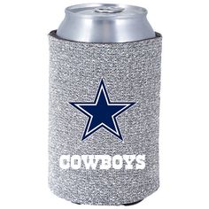 Dallas Cowboys Glitter Coolie | Glassware | Home & Office | Accessories | Cowboys Catalog | ShopCowboys