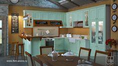 Кухня Абика на заказ, цена от 29 000 руб за п.м. от фабрики «Анонс»