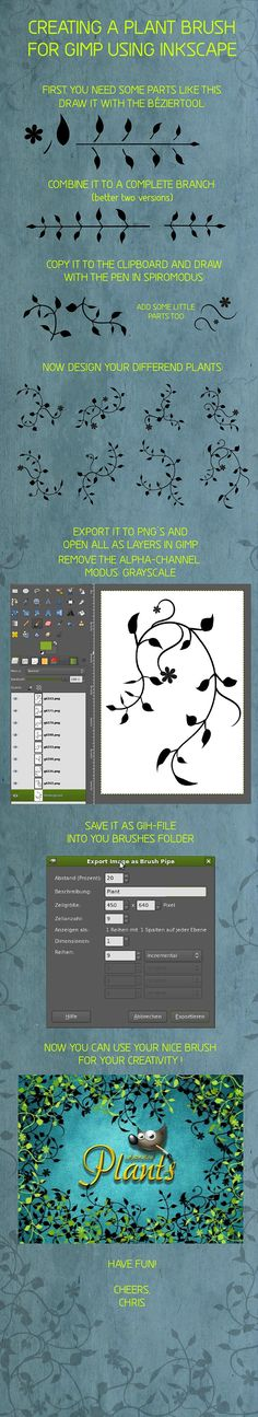 Inkscape GIMP-Brush Tutorial by Chrisdesign on DeviantArt