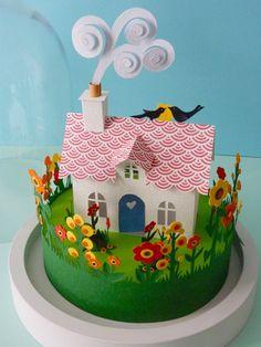 Happy House - Helen Mussel White