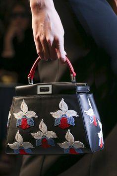 Fendi bags at spring-summer 2015 fashion show