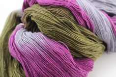 English Garden: Silk Cloud Silk Yarn Anamika Silk Yarn (It's from silk waste! and fairly traded) from DGY