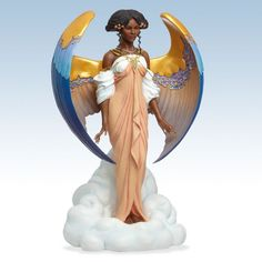 Angel of Grace Figurine by Thomas Blackshear~ WOW! ~ HAVE NOT ADDED TO MY ANGEL COLLECTION IN A WHILE ~ BEAUTIFUL!
