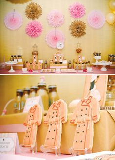 {Pink & Plaid} Burberry Inspired Baby Shower