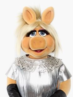 Miss Piggy my heroine ;)