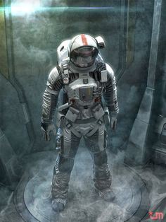 Character design and concept development - Astronaut by Jeff Miller | CG Daily news