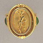 Seidengang Design 18K Size 6.5 Gold Cabochon Amethyst / Cameo Woman Flip Ring - 'WOMAN, Amethyst, Cabochon, Cameo, Design, Flip, Gold, Ring, SeidenGang, Size - http://designerjewelrygalleria.com/seiden-gang/seidengang-design-18k-size-6-5-gold-cabochon-amethyst-cameo-woman-flip-ring-2/
