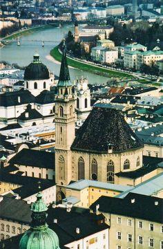 Salzburg, Austria. My piece of heaven.