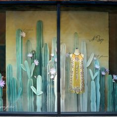 We've long admired the humble cactus. Strong, resilient and unassuming, this spiny desert dweller is far from a delicate flower—and yet when it blooms, it blooms with the best of them. From towering saguaros to petite prickly pears, our display team handcrafted a gorgeous assortment of cacti for our fall 2016 windows. Stop by your …