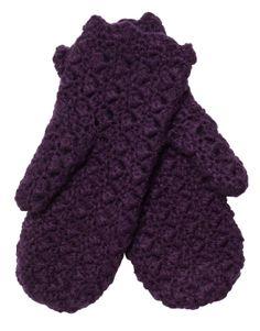 MOSS mitten purple | Gloves | Gloves and Hats | Accessories | INDISKA Shop Online