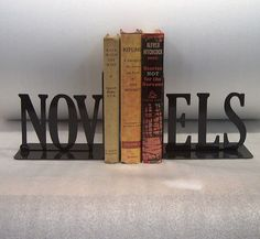 Bookends for your favorite novels!