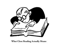 """What Close Reading Actually Means from Grant Wiggins. Anchor Standard 1 requires Close Reading---Anchor Standards can be the """"purpose"""" for for a re-reading. Close Reading, Reading Strategies, Reading Comprehension, Teaching Reading, Guided Reading, Teaching Ideas, Speed Reading, Lecture Attentive, Visual Dictionary"""