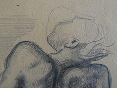 """DELACROIX Eugène,1827 - Mort de Sardanapale, Etudes (drawing, dessin, disegno-Louvre RF6860) - Detail 04  -  TAGS / art painter peintre peintre croquis étude study sketch sketches tableaux Museum Paris death drame drama tragedy man men nu nude naked """"naked woman"""" """"naked women"""" nudity nu nudité bare """"femme nue"""" """"nu féminin"""" """"naked man"""" """"naked men"""" """"homme nu"""" """"nu masculin"""" romantic romantique romantisme romanticism romance cheval horse animal loup wolf"""