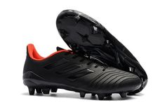 Adidas Predator 18.4 FG Soccer Cleats - Core Black Orange Stores 19277c5d2fb46