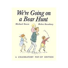 $24.99 - We are going on a bear hunt. We are going to catch a big one. Will you come too? For years readers have been swishy swashing and splash sploshing through this award-winning favorite. This hardcover, is written by Michael Rosen and illustrated by Helen Oxenbury. Now fans of the original classic can join in all the fun of the bear hunt with this incredible collectible edition.K-2nd Grade Books!