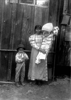 Robyn Stroman saved to Fresno's Past A Native American Mono mother and her children, Fresno, California, 1896. A. W. Peters Photograph Collection, Fresno Historical Society Archives.