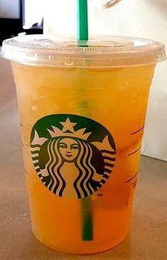 Starbucks Secret Menu: Orange Peach Delight
