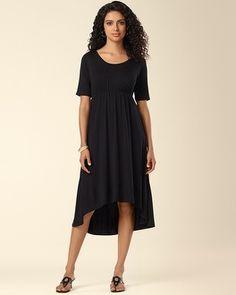 Soma Intimates Hi Low Dress Black  somaintimates Hi Low Dresses 496b3e5ce