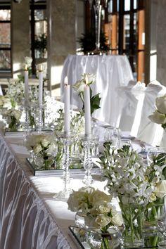 Dockside Wedding Bridal Table