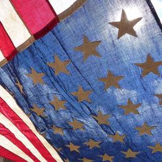 The Stars and Stripe Against a Sun-filled Blue Sky Nothing better.  An Original 1940s Vintage 48 Star American Flag United Service Flag Company N.Y.C. 3.52 x 6.688 Double Sided USA All Cotton 3.5ft x 6.8ft This beauty is EXCELLENT Condition. Made in the USA. Now in our etsy shop.  #starsandstripes #americanflag #48stars #1912 #1959 #flag #vintageflag #48stars #48starflag #america #USA #landthatilove #antiqueflag #48stars #godscountry #usa ##flagday #usaflag #oldglory #americana