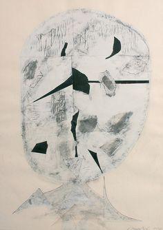 Janoušková Věra | Hlava, 1991 | Aukce obrazů, starožitností | Aukční dům Sýpka