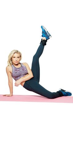 Want killer legs?  - Follow these five moves to get your legs slim, toned, and super sexy.