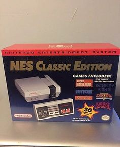 NINTENDO NES CLASSIC EDITION MINI CONSOLE WITH 30 GAMES SYSTEMS SOLD OUT!!!