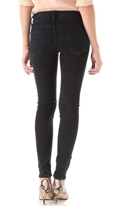 KORAL Skinny Jeans in Worn Black