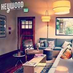 Heywood Hotel Lobby