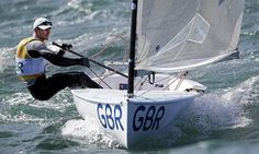 Giles Scott wins gold for Great Britain.