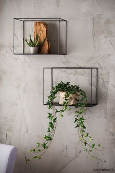Wood And Metal Shelves, Metal Walls, House Plants Decor, Plant Decor, Office Interior Design, Office Interiors, Bari, Café Bar, Flower Stands