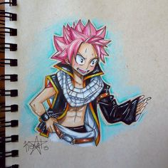 """What's Happening?!? by kelly-drawsalot i loved the scene where Natsu had his age turned back and he just stands there in his to big cloths like """"what the?!?!"""" so i drew it! hope ya'll like it too :)"""