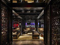 Modern Nightclub Design: Dragonfly Nightclub by Munge Leung Ibiza, Art Madrid, Madrid Barcelona, Barcelona Spain, Best Kitchen Colors, Nightclub Design, Club Lighting, Loft, Commercial Architecture