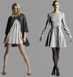craving a gray dress for fall