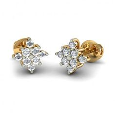 http://www.bluestone.com/earrings/the-kostroma-earrings~665.html  Lovely clusters of sparkling gemstones form this traditional pair of stud earrings. Add a twinkle to every outfit with this classy earring pair.