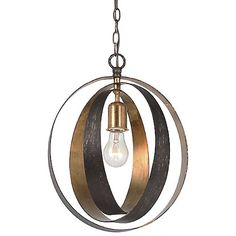 Luna Sphere Pendant by Crystorama at Lumens.com