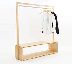 KM .35 / ita-hanger bench B | 大工の手 | 【わざわ座】デザイン×ものづくりのプラットフォーム