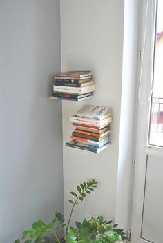Tutorial DIY: Zrób lewitującą półkę na książki przez DaWanda.com