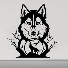 Dogs Family Animal Wolf Pack Outdoors Wildlife Couple Decal Sticker Hunting
