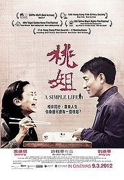 Heartwarming story of a film producer and the family servant who raised him and his siblings.  As she enters old age, he wants to make the rest of her life as good as possible.  Based on true story.