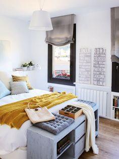 Una #casa #eco friendly, un hogar eficiente #gasto #ahorro #ecodeco #dormitorio